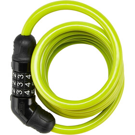 ABUS Star 4508C Spiral Cable Lock 150cm green